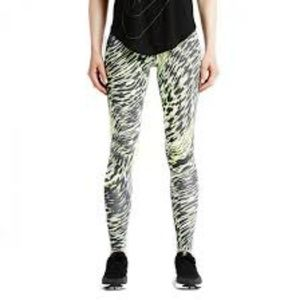 Nike Leg-A-See Windblur Tights Volt/ Black Sz S